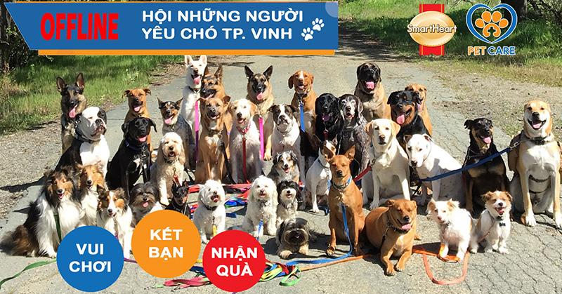 Offline Hội Những Người Yêu Chó – Thành Phố Vinh