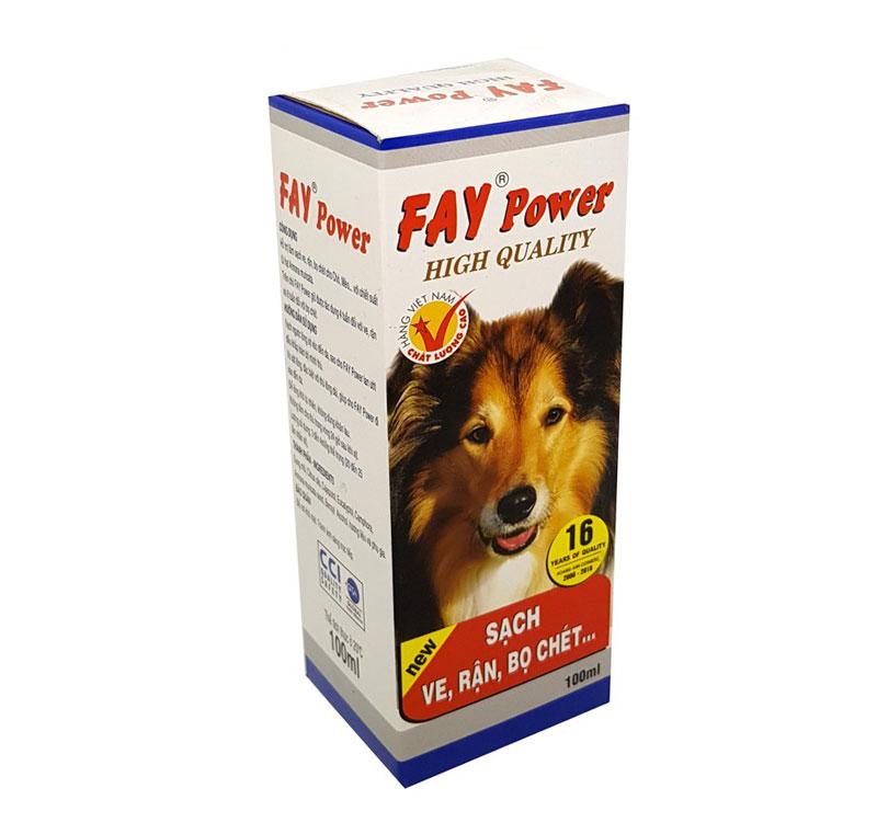Thuốc trị ve chó Fay Power