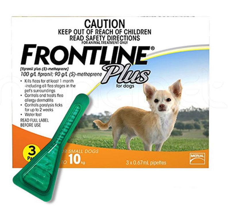Thuốc trị ve chó Frontline